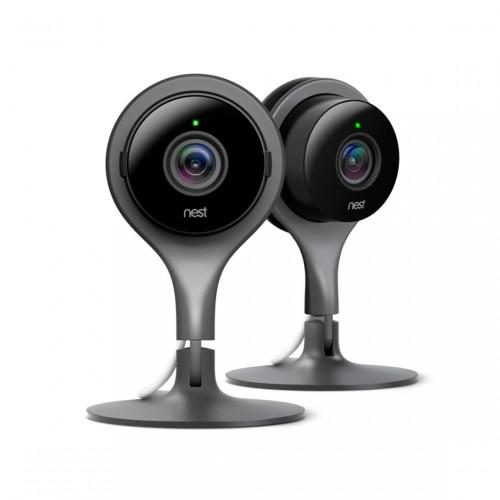 Google Nest Cam Indoor - Überwachungskamera, 2er-Set
