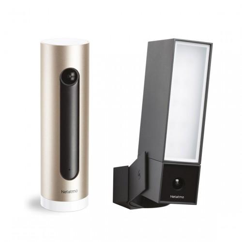Netatmo Kamera-Set - Presence Outdoor & Welcome Indoor