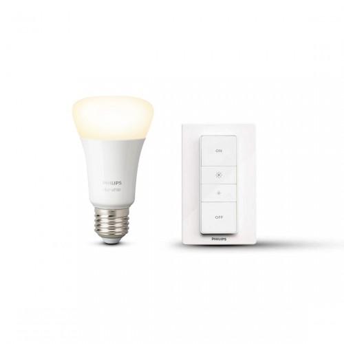 Philips Hue Wireless Dimming Kit E27 Dimmschalter + Lampe in weiß