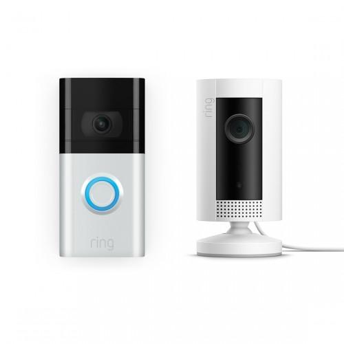 Ring Video Door Bell 3 + Ring Indoor Cam
