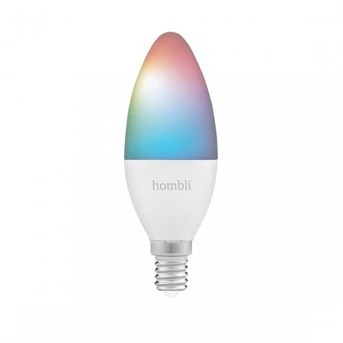 Hombli Smart Bulb E14 White and Color-Lampe