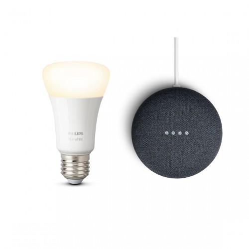Google Nest Mini + Philips Hue White E27 Bluetooth