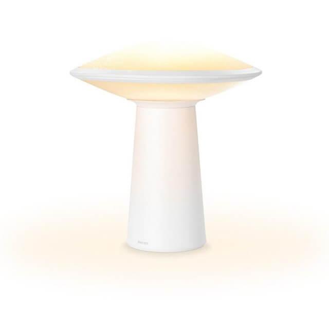 Philips Hue White Ambiance Phoenix Tischleuchte in weiß