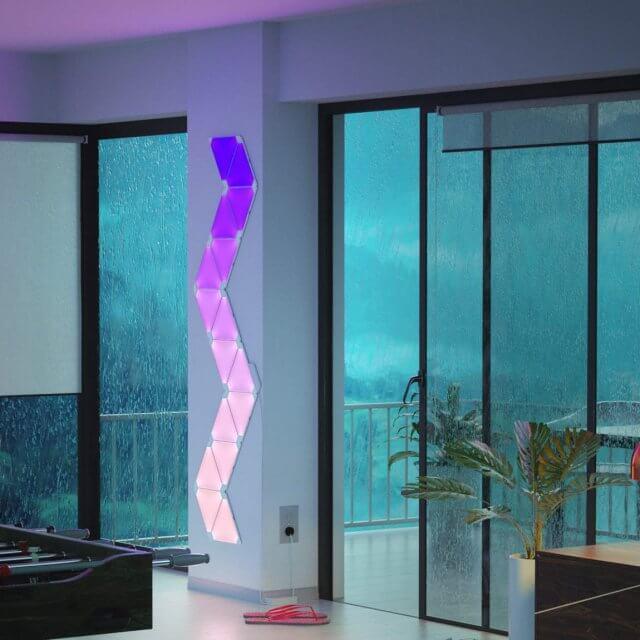 Nanoleaf Aurora Erweiterungsset - 3 modulare LED-Panele