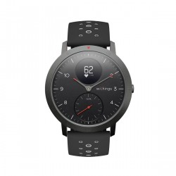 Withings Steel HR Sport - Multi-Sport Hybrid Smartwatch - Herzfrequenz- und Fitnesstracker - Weiß Uhr