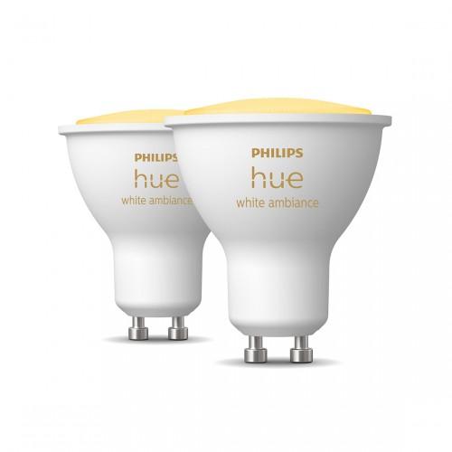 Philips Hue White Ambiance GU10 Bluetooth 2er-Set