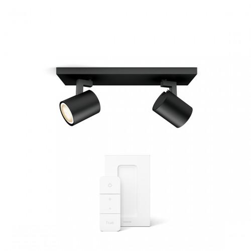Philips Hue Runner Bluetooth LED 2-er Spot 2x 350lm inkl. Dimmschalter