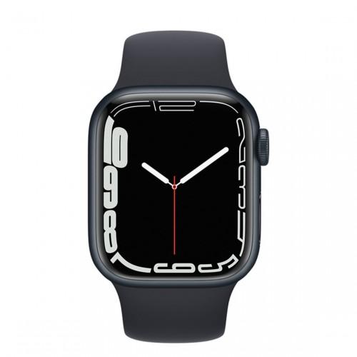 Apple Watch Series 7 - Smartwatch (GPS) + Cellular - schwarz