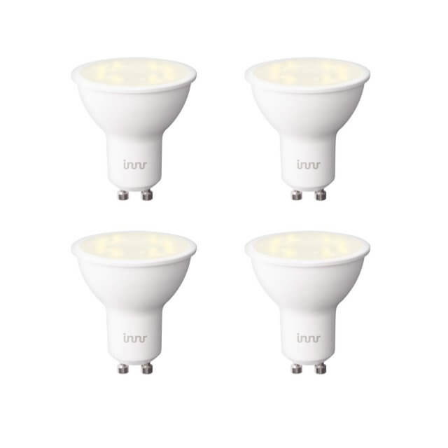 Innr Bulb RS 128 T 4er-Set - warm dimmbare GU10 LED-Lampe