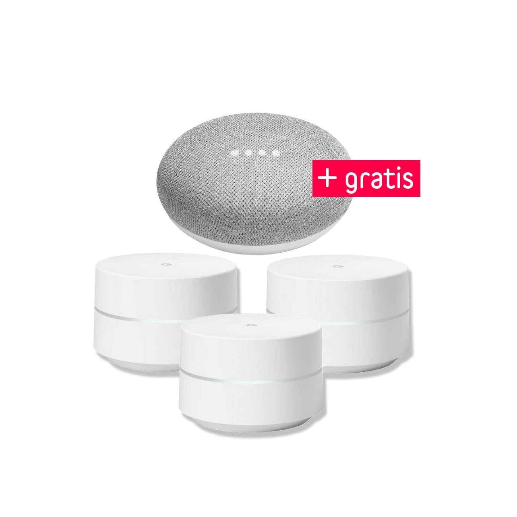 google wifi 3er pack gratis google home mini kaufen tink. Black Bedroom Furniture Sets. Home Design Ideas