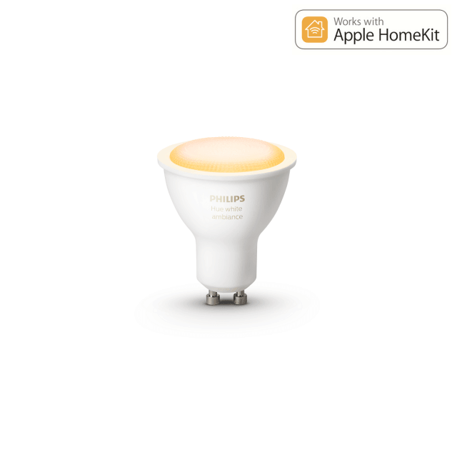 Philips Hue White Ambiance GU10 - LED-Lampe