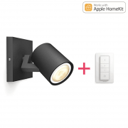 Philips Hue Runner LED 1-er Spot 250lm inkl. Dimmschalter