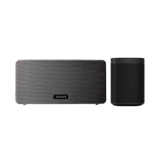 Sonos One + Sonos PLAY:3