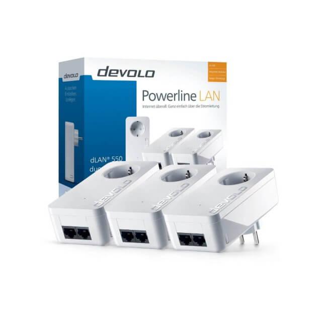 devolo dLAN 550 duo+ - Network Kit Powerline