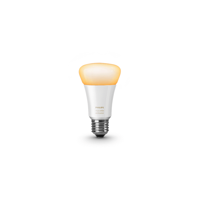 Philips Hue White Ambiance E27 in gelb
