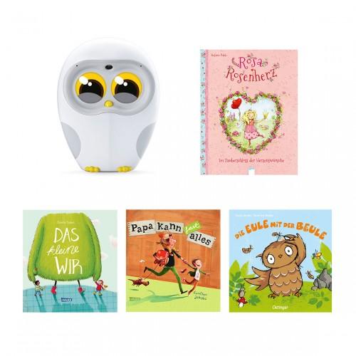 Luka - Vorlese-Freund für Kinder + 4 Bücher