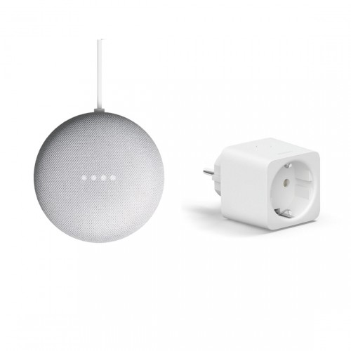Google Nest Mini + Philips Hue Smart Plug