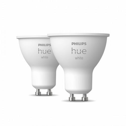 Philips Hue White GU10 Bluetooth 2er-Set - LED-Spot