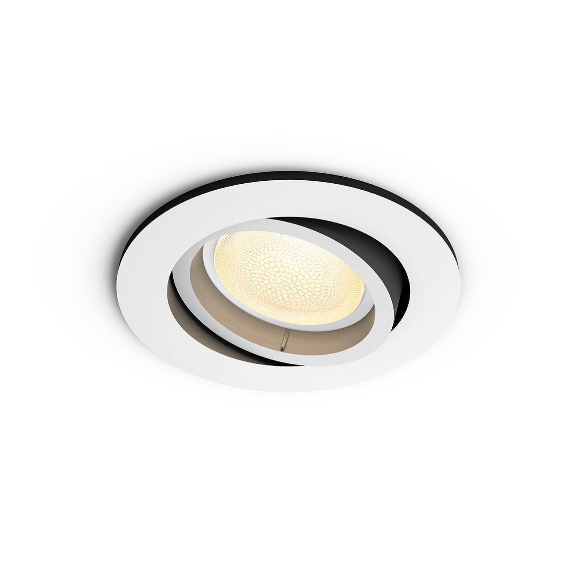Philips Hue White & Color Ambiance Centura Bluetooth - Einbauspot, rund