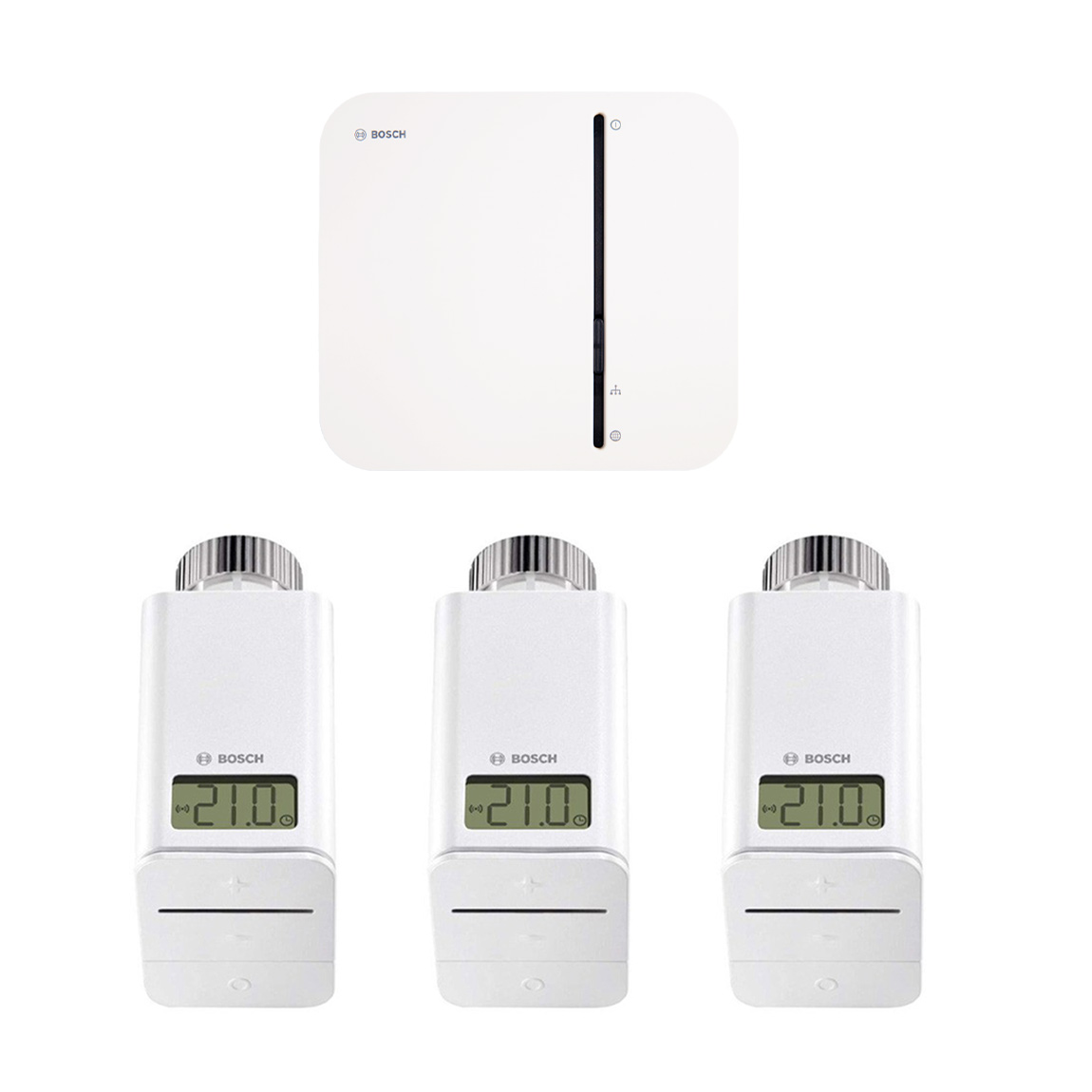 Bosch Smart Home - Starter Set Heizung + gratis Twinguard + Twist