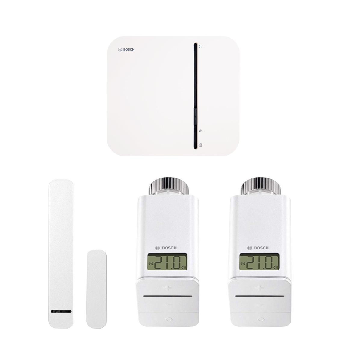 Bosch Smart Home - Starter Set Raumklima + gratis Twinguard + Twist