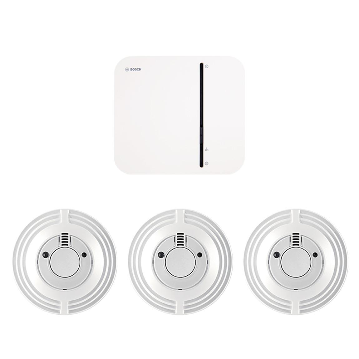 Bosch Smart Home – Wohnungspaket Brandschutz
