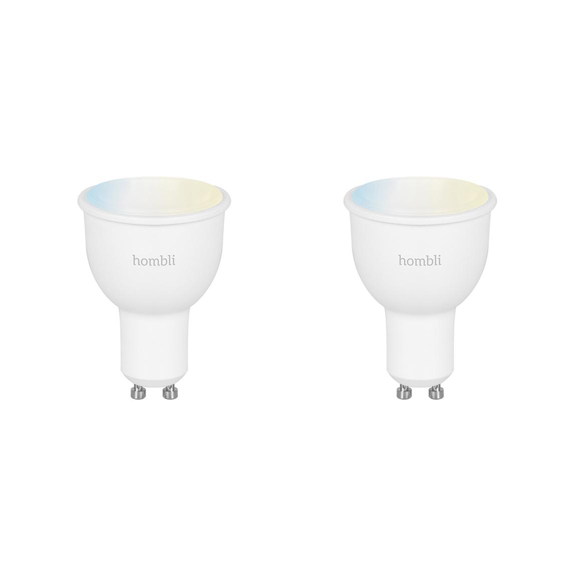 Hombli Smart Spot GU10 White-Lampe 2er-Set