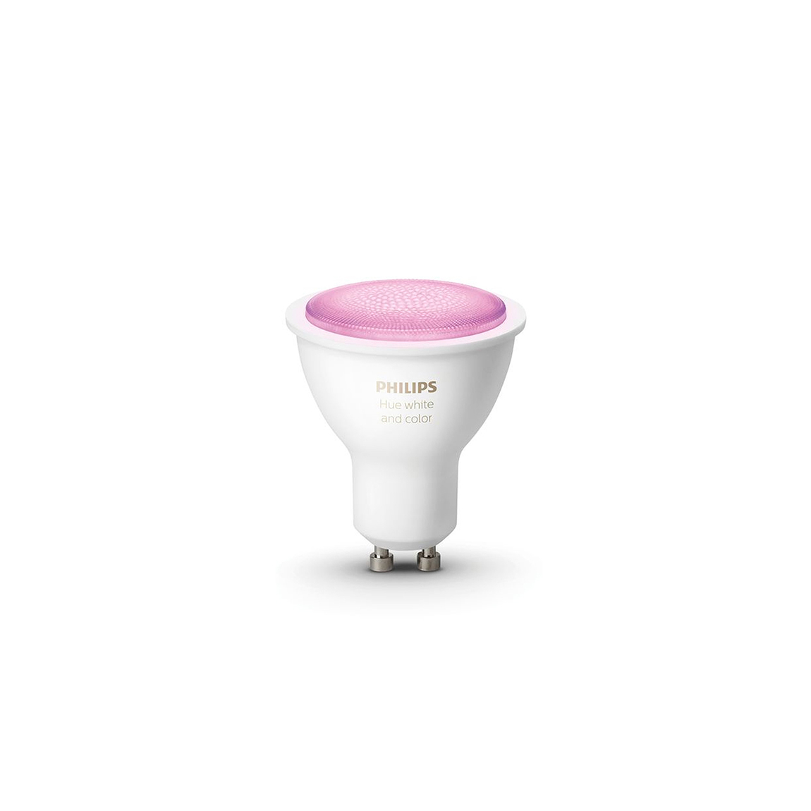 Philips Hue White and Color Ambiance GU10 Bluetooth - LED-Spot - Weiß