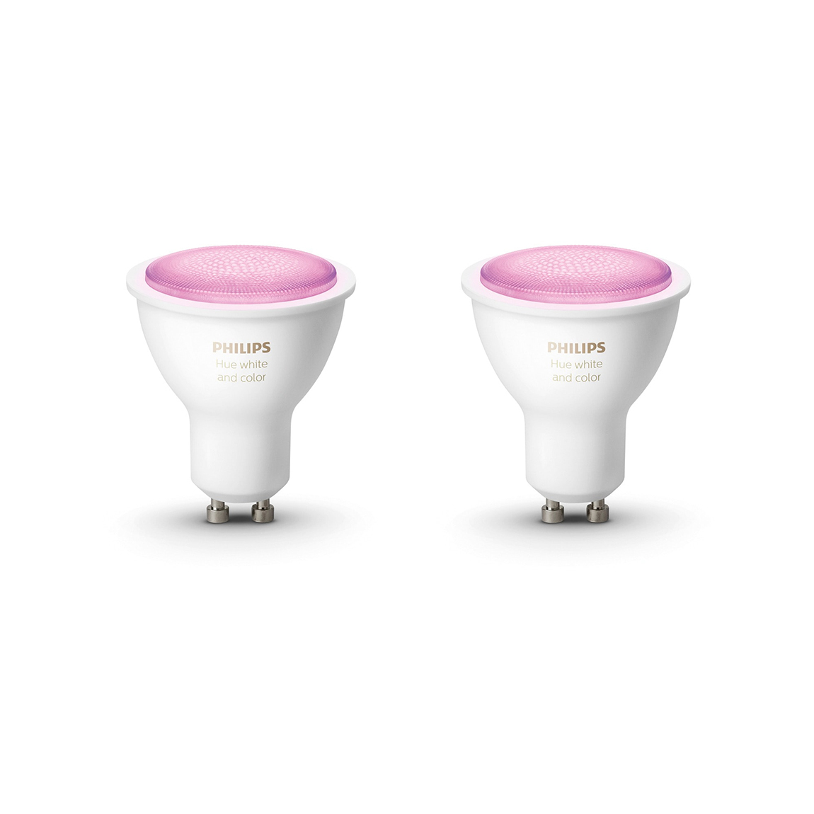 Philips Hue White and Color Ambiance GU10 Bluetooth 2er Set