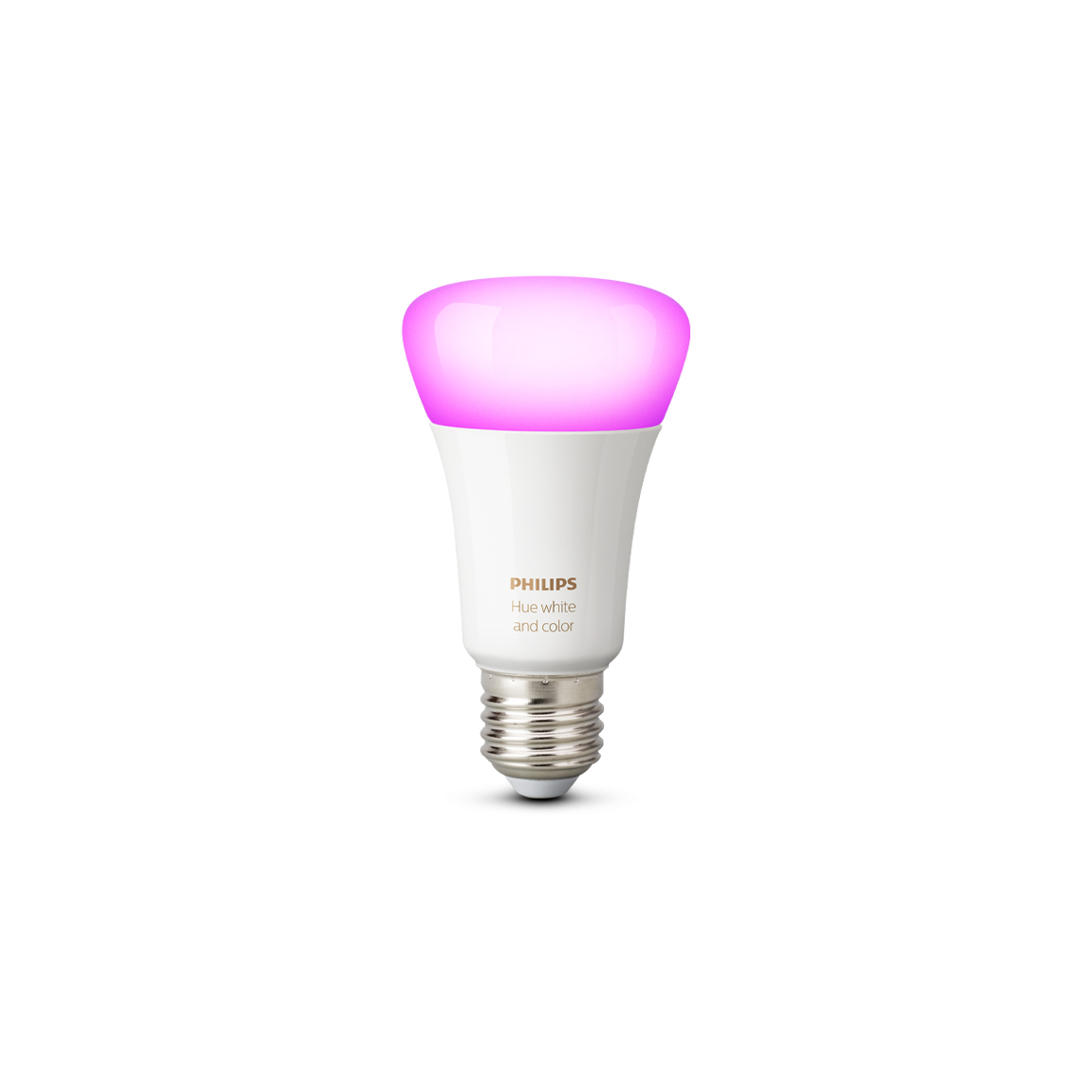 Philips Hue White and Color Ambiance E27 Bluetooth - LED-Lampe - Weiß