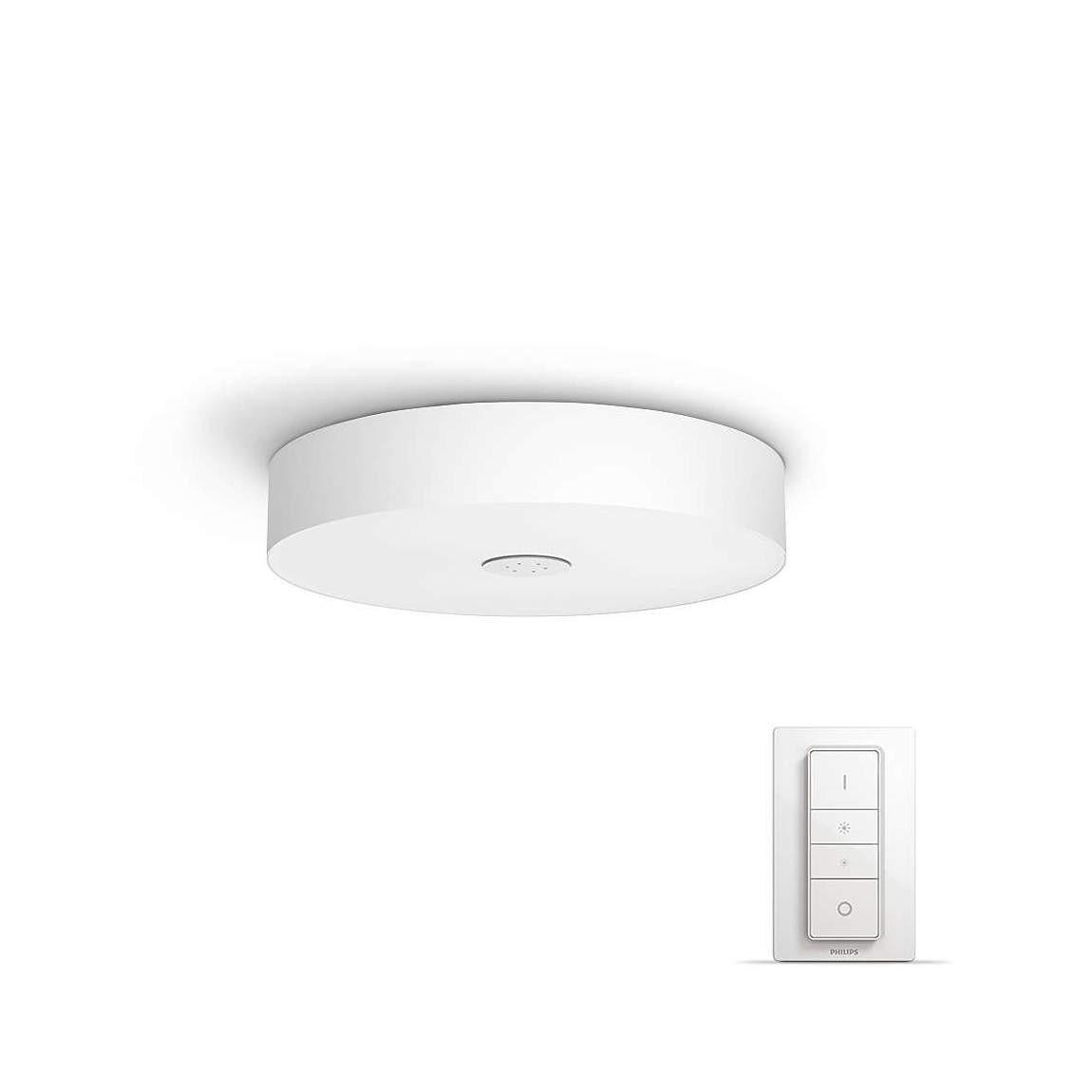 Philips Hue White Ambiance Fair - LED-Deckenleuchte + Dimmschalter
