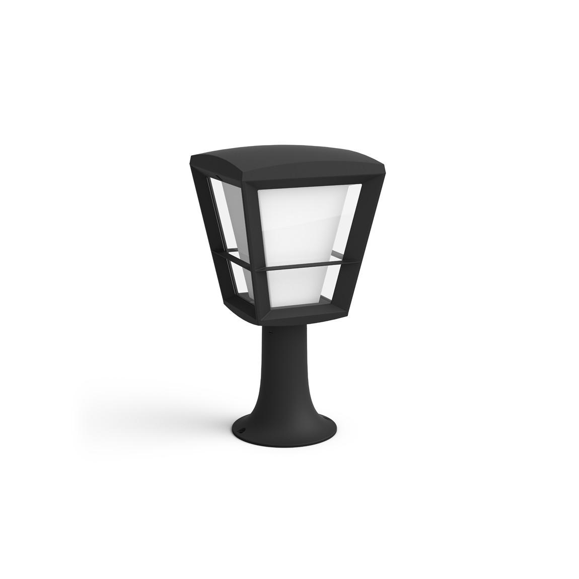 Philips Hue LED Sockelleuchte Econic - Schwarz