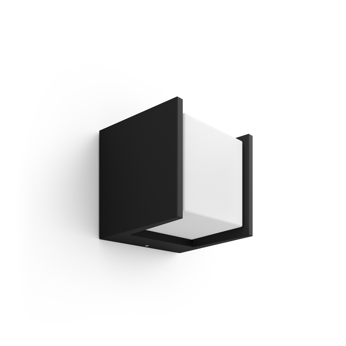 Philips Hue LED Wandleuchte Quadratisch Block Fuzo - Schwarz