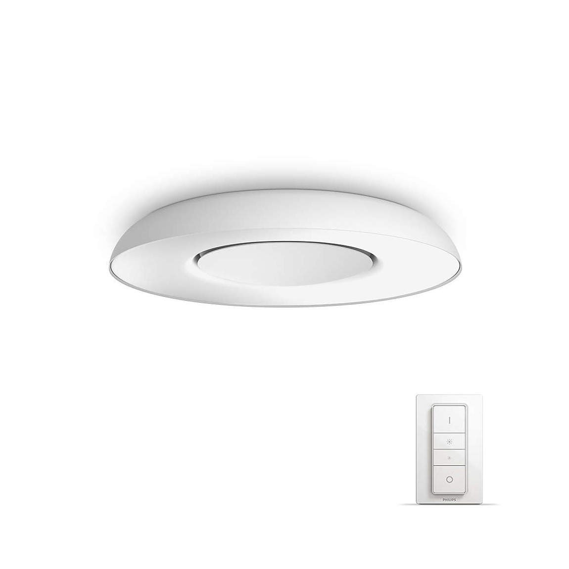 Philips Hue Still LED Deckenleuchte 2400lm inkl. Dimmschalter - Weiß