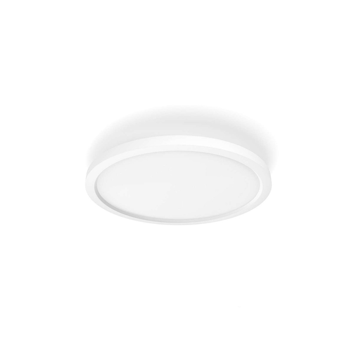 Philips Hue White Ambiance Aurelle LED-Panellampe Rund Dimmbar