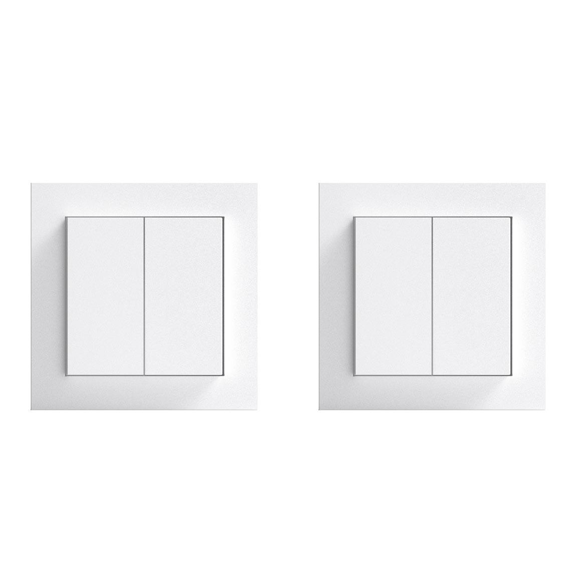 Senic Friends of Hue Smart Switch – Smarter Lichtschalter 2er-Pack