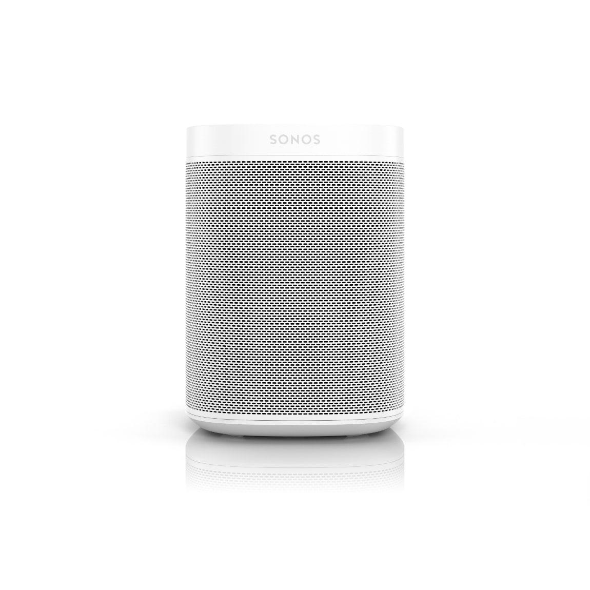 Sonos One Gen. 2 – Smart Speaker mit Sprachsteuerung – Weiß