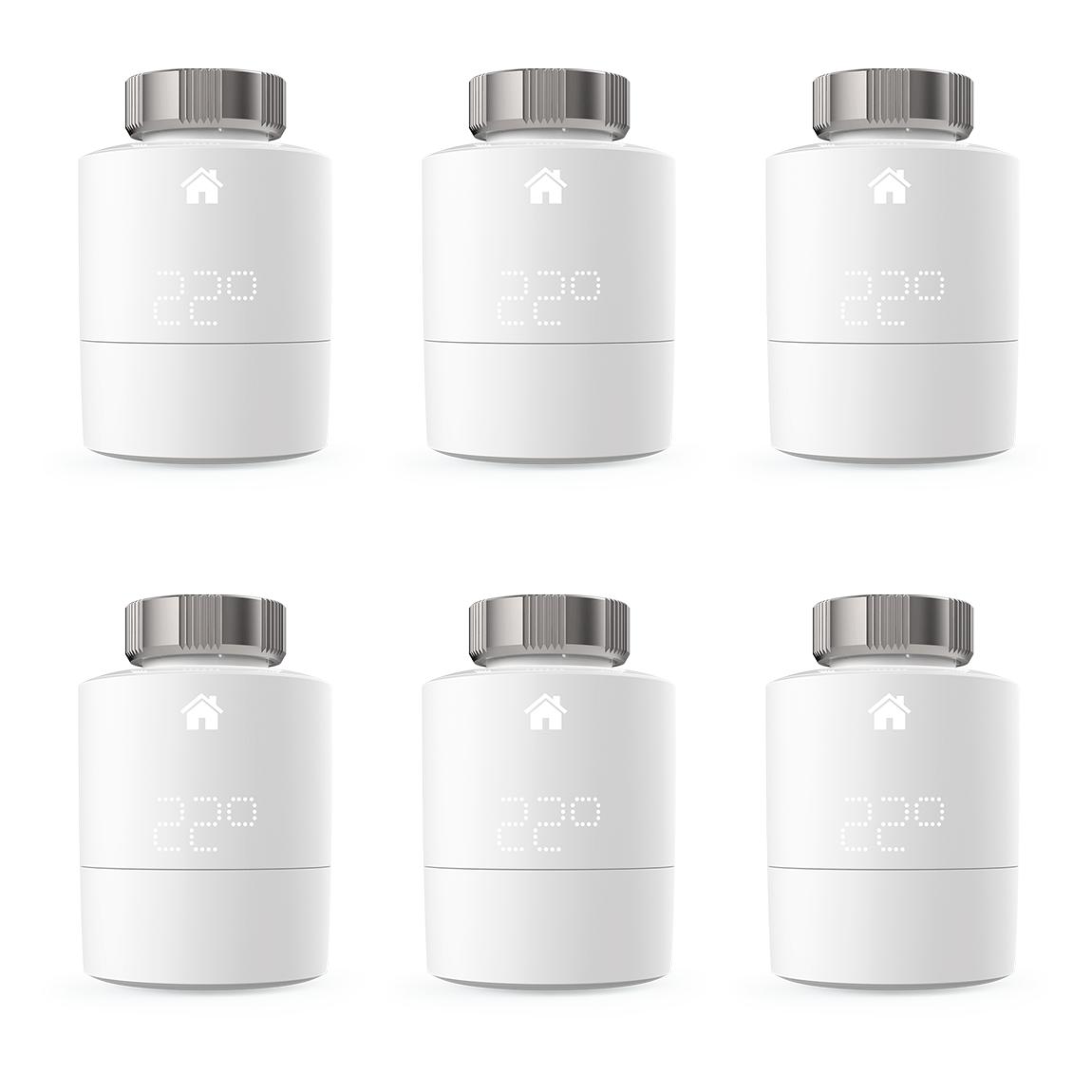 tado° Smartes Heizkörper-Thermostat - 6er-Pack