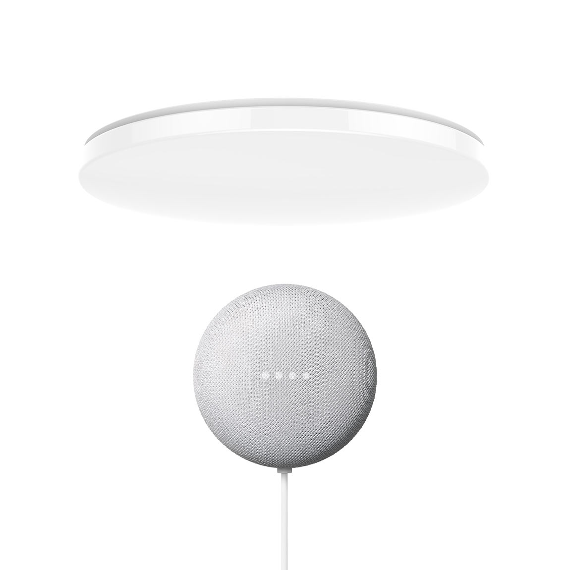 Yeelight Galaxy LED Deckenleuchte 450 + Google Nest Mini
