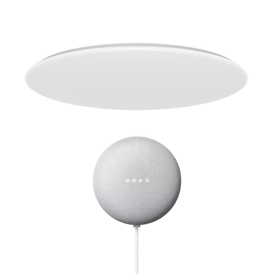 Yeelight Galaxy LED Deckenleuchte 480 + Google Nest Mini