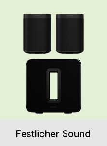 Sonos One SL Stereo Set mit Sonos Sub