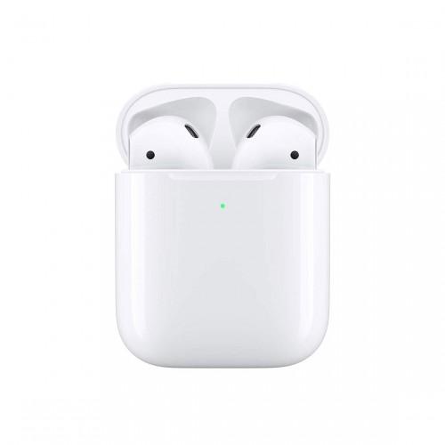 Apple AirPods 2 - In-Ear Kopfhörer mit kabellosem AirPod Ladecase
