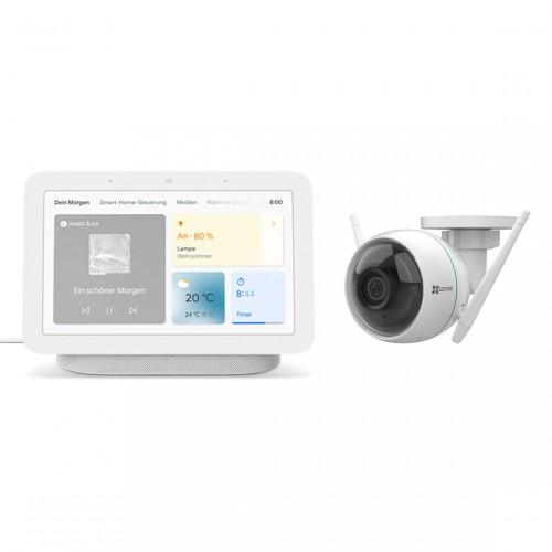 EZVIZ C3WN + Google Nest Hub