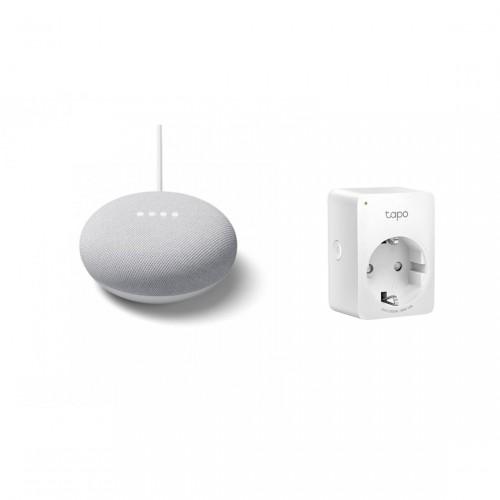 Google Nest Mini + TP-Link Tapo P100 Mini Smart WLAN