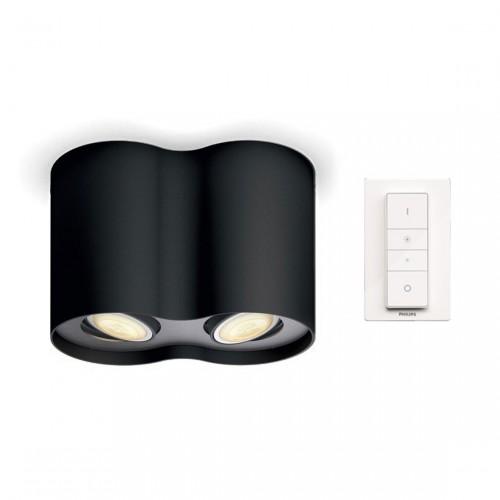 Philips Hue Pillar LED 2-er Spot 2x250lm inkl. Dimmschalter