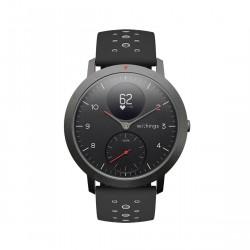Withings Steel HR Sport - Multi-Sport Hybrid Smartwatch - Herzfrequenz- und Fitnesstracker - Weiß Uhr