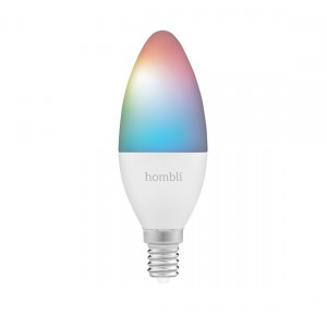 Hombli Smart Bulb E14 White and Color-Lampe