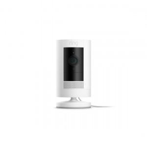 Ring Stick Up Cam Plug-In - Überwachungskamera für den Innen- und Außenbereich