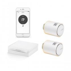 Netatmo Heizkörper-Thermostat Starter Set mit 2 Thermostaten