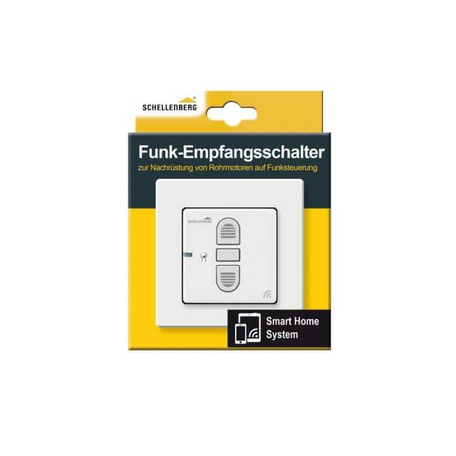 Schellenberg Funk-Empfangsschalter Unterputz